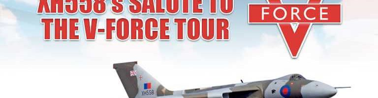 XH558's Salute to the V-Force Tour